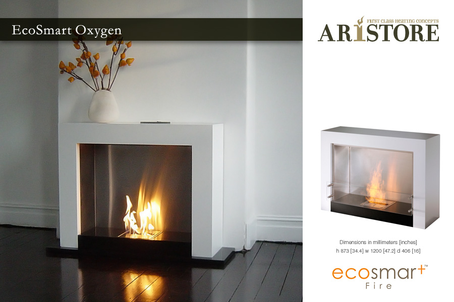 EcoSmart Oxygen. Oxygen - First Class Heating Concepts » Aristore