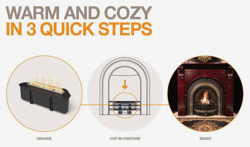 EcoSmart Warm and Cozy in 3 Quick Steps